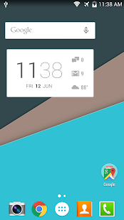 Better DashClock Key- screenshot thumbnail