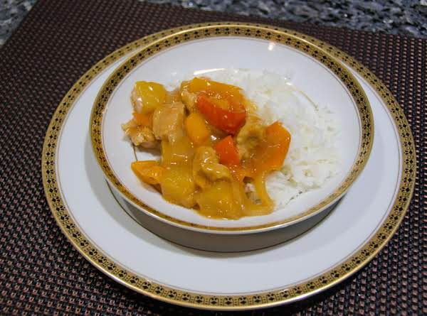 Sweet & Sour Chicken With Veggies Recipe