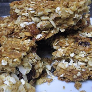Orange Ginger Granola Bars