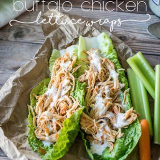 Buffalo Chicken Lettuce Wraps.
