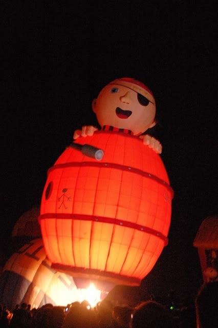 pirate hot air balloon