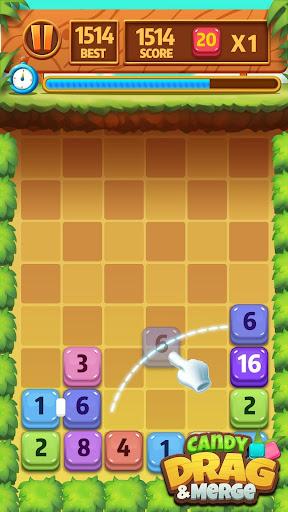 Candy Drag & Merge 1.9 screenshots 4