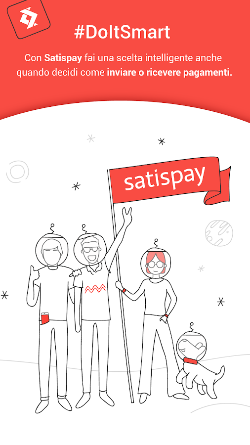 Satispay- screenshot