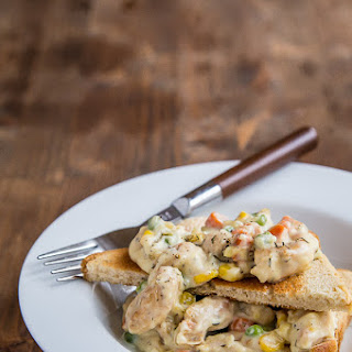 Lazy Girl Chicken Pot Pie