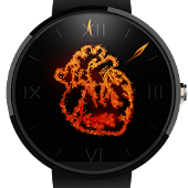 Heart Ablaze - Watch Face