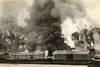Photo: Brannen på Broene 27 mai 1936