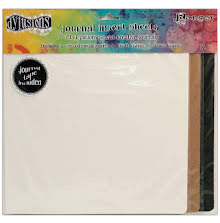 Dylusions Journal Inserts Assortment 12/Pkg - Square