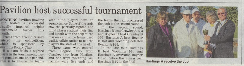Photo: Worthing Herald 30th May 2013