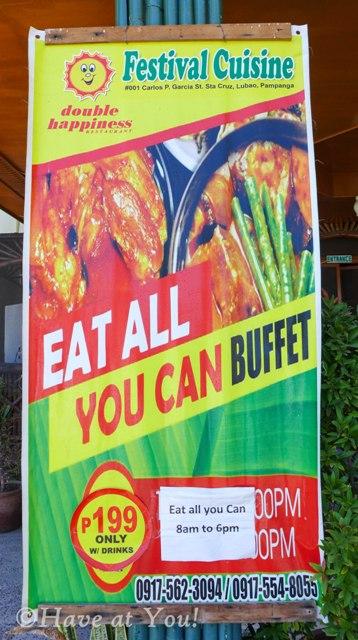 Festival Cuisine signage
