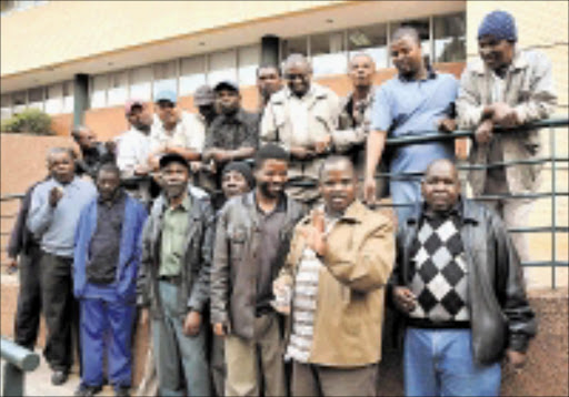 ENOUGH: Drivers from United Taxi Drivers Association Forum say they will stop operation Nomakanjani. Pic: VATHISWA RUSELO. 18/06/2009. © Sowetan. .Taxi drivers from united taxi drivers association forum say they will stop operation Nomakanjani. Pic: VATHISWA RUSELO