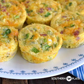 Muffin Tin Omelets.