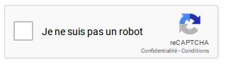 Cocher Je ne suis pas un robot