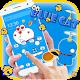 Kawaii Blue Cute Cat Cartoon Wallpaper Theme Download on Windows