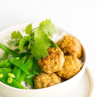 Mini Chicken Meatballs With Cashews, Coriander & Cream Cheese