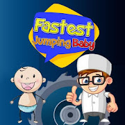 Fastest  jumping baby