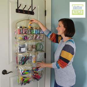 Clutter Keeper 44 Pocket Hanging Organizer