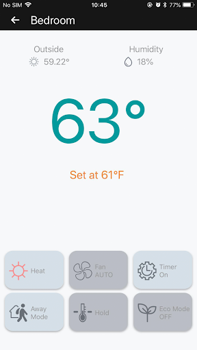 Momentum Smart Thermostat screenshot 3