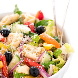 Rainbow Italian Tortellini Pasta Salad Recipe