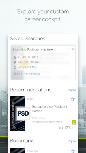 Find jobs, lead in your career - screenshot