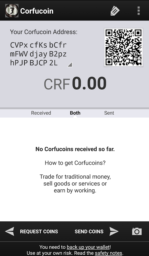 Corfucoin- screenshot