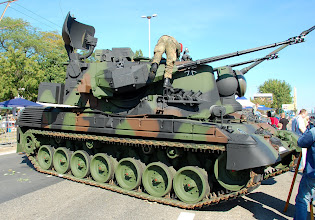 Photo: Niemiecki zestaw przeciwlotniczy Gepard