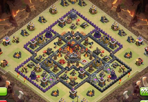 Strategy COC War Base