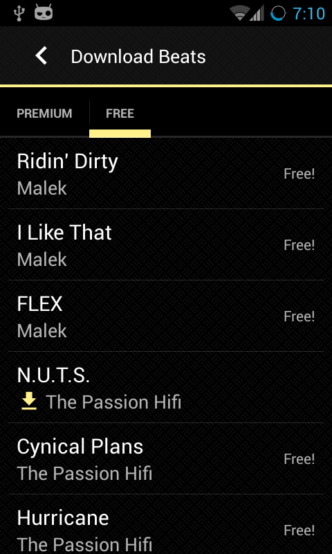 Tune Me- screenshot