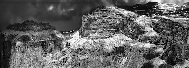 Photo: Magnificent Mountains Panorama made out of 3 photos, handheld.  #MountainMonday