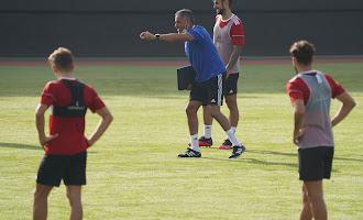 Entrenamiento del Almería (2 de agosto)