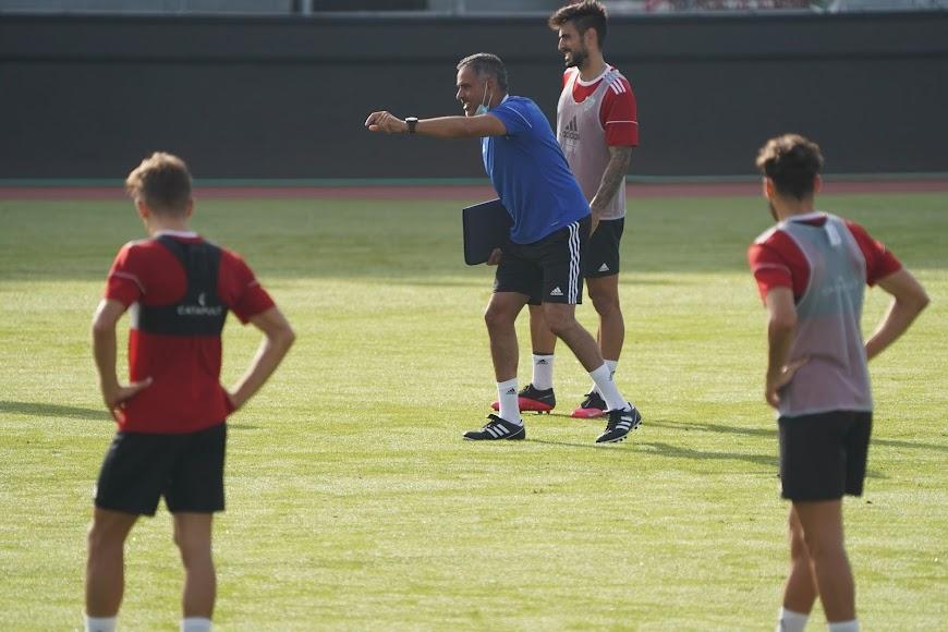 José Gomes en acción.