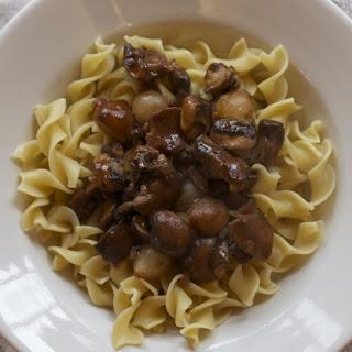 Mushroom Bourguignon