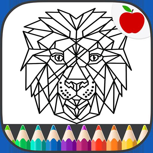 Animal Geometric Coloring Book 休閒 App LOGO-APP開箱王