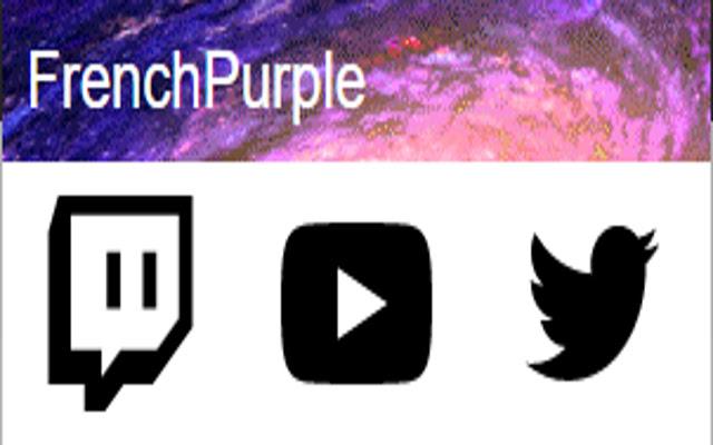 Extension Twitch de FrenchPurple