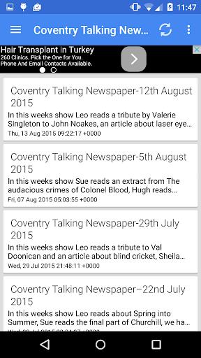 Talking Newspapers App
