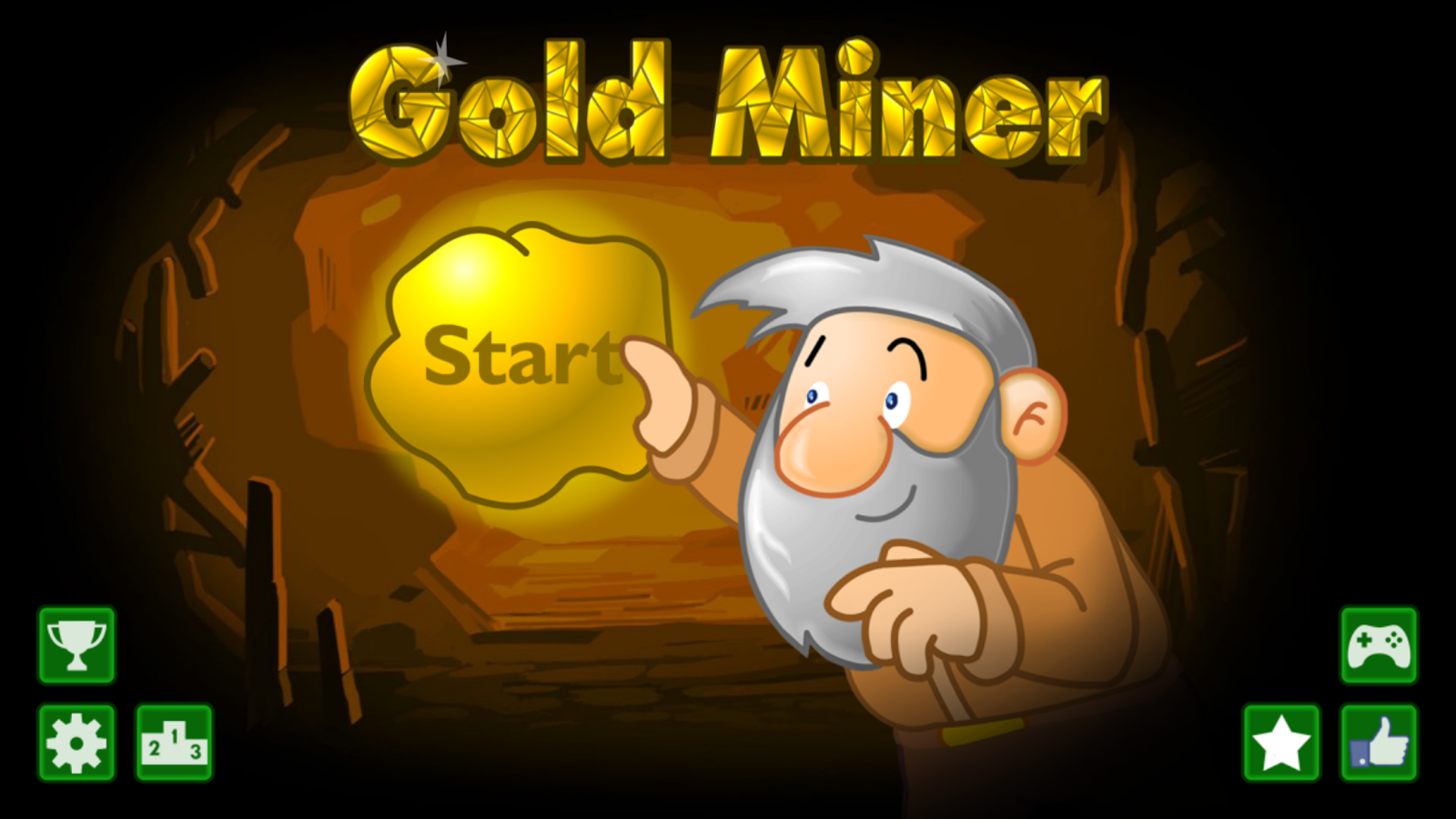 Classic Gold Miner Game