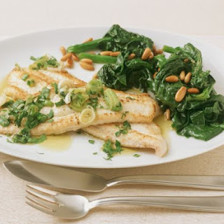 Italian Sole Fillets Recipe
