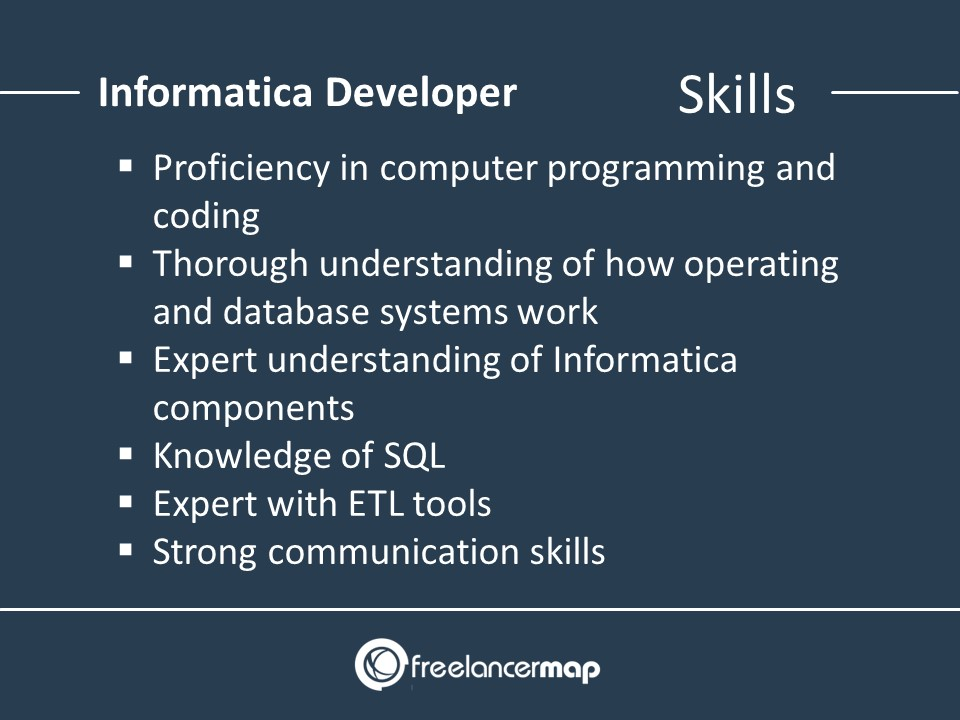 Skills of an Informatica Developer