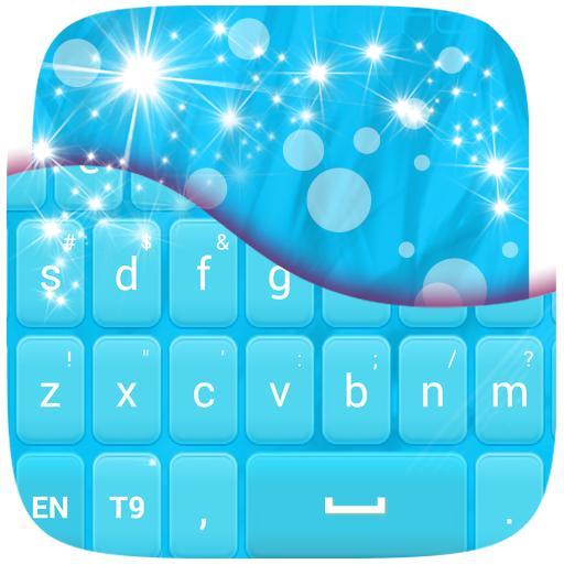 键盘蓝色主题 個人化 App LOGO-硬是要APP
