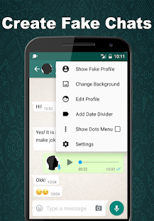 Fake chat conversation, fake calls sms and Chatapp - náhled