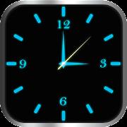 Glowing Clock Locker - Blue