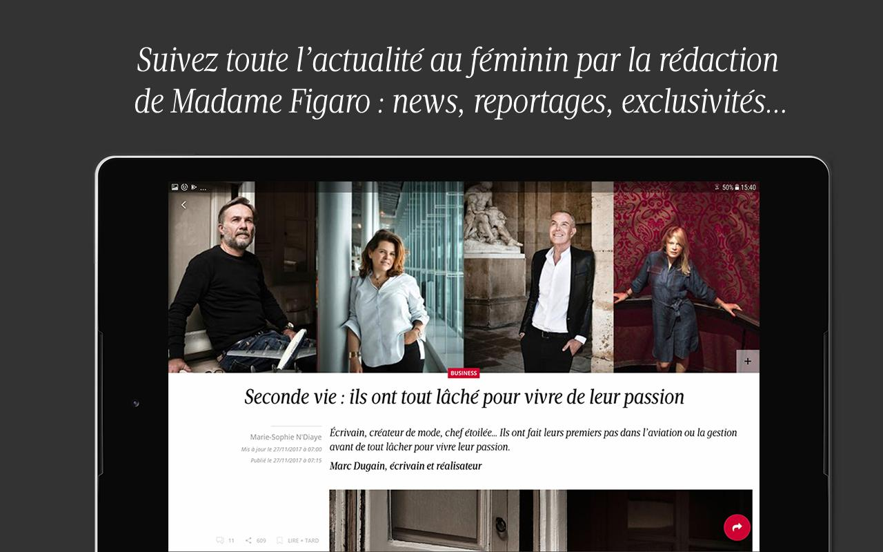 Madame Figaro : magazine et news au féminin- screenshot