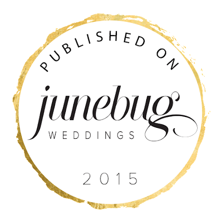 Junebug Weddings (USA) - Ethereal Normandy Wedding Shoot