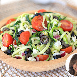 Hungry Girl's Zucchini Noodle 'Pasta' Salad.