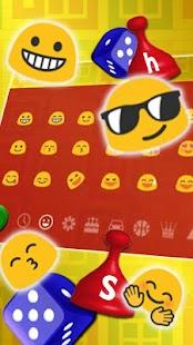 Cube Ludo Keyboard Theme - náhled