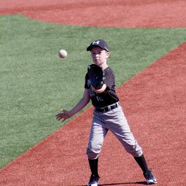 by Jackie Eatinger - Sports & Fitness Baseball ( baseball camp, brayden,  )