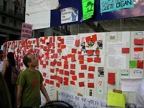 Photo: Puerta del Sol, Madrid, Movimiento 15-M, 21 de mayo de 2011, 2