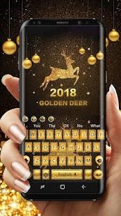2018 Golden Deer Keyboard - náhled