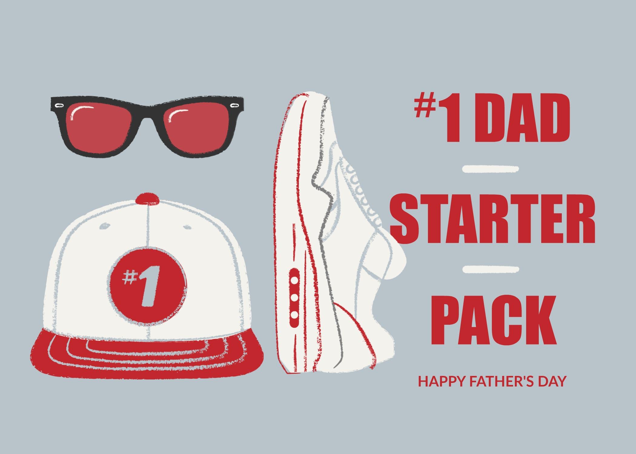 Dad Starter Pack Picmonkey