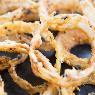 Nigella Seed Onion Rings.