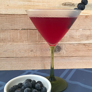 Blueberry Lemon Vodka Martini Recipe